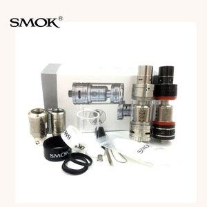 Image 2 - Оригинальный атомайзер для электронной сигареты Smok TFV4, мини атомайзер Sub Ohm Tank 510, вейп бак VS SMOK TFV8