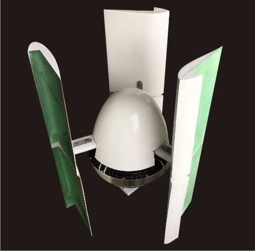 wind solar hybird 600W vertical wind generator for wind mill with controller