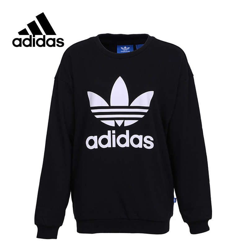 adidas New Arrival Official Women's Pullover Breathable O-Neck Leisure Sportswear BP9494 BP9498 original new arrival official adidas originals women s breathable pullover hooded leisure sportswear good quality cv9437