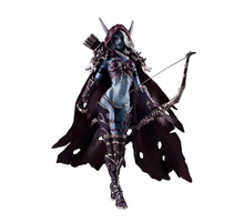 NEW Dota 2 Darkness Ranger Lady Sylvanas Windrunner Action Figure Toys Cartoon Game Kids PVC Collection Model Brinquedo 0315