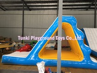 giant water park inflatable water slides
