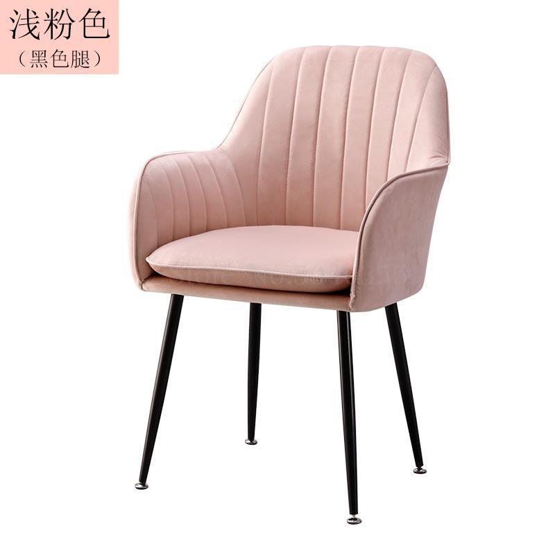 Современный дизайн, мягкий обеденный стул, модный прозрачный стул для гостиной, отдыха, мебель, стул-Лофт - Цвет: VIP 7