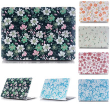 Snowflake Flower Suihua Garden Rubberized Hard Sleeve cover Case For Apple mac MacBook Air 11/13 Pro 13 15 With Retina Display apple macbook pro 13 with retina display mf841 ru a