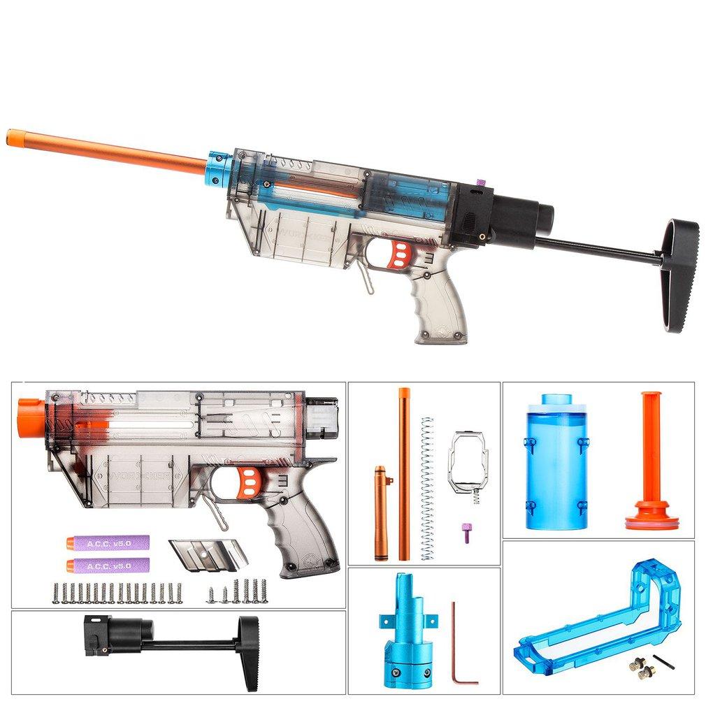 Travailleur YY-R-W019-W024 R Type Mod Kits Set pour Nerf N-strike Elite Stryfe Blaster Court Balles B/Un pompe Kit Jouet Pistolet BRICOLAGE Pièces