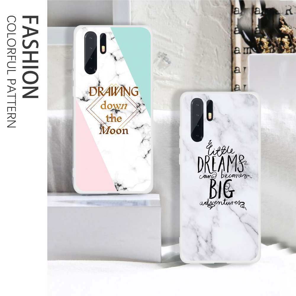 Case For Huawei P30 Pro P20 Lite P10 P Smart 2019 Marble Soft Silicone TPU Phone Cases For Huawei P30 P20 Pro PSmart 2019 Cover  (19)