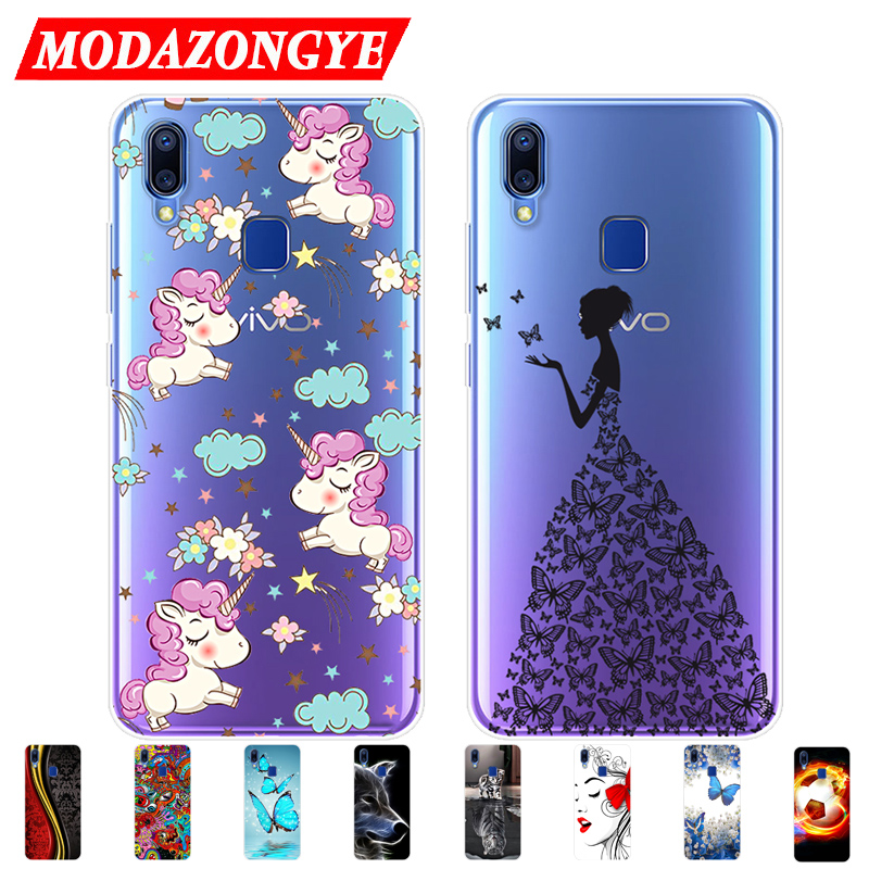 Vivo Y91i Case VIVO Y93 Case Silicone 6.22 inch TPU Back Cover Protective Soft Phone Case For Vivo Y91i VIVOY91i Y 91i 93 Case
