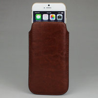 Leather Pouch Sleeve Bag Pull Tab Cases Covers Skins For IPhone 6 4 7 Inch Drop