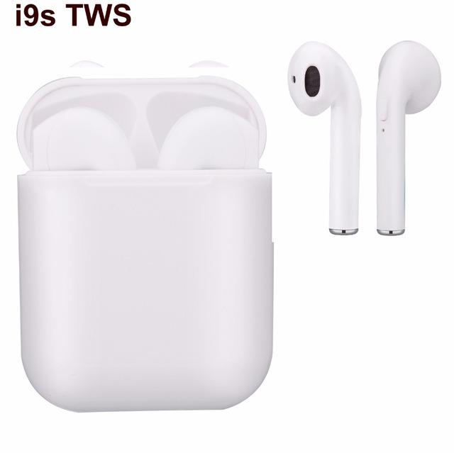 Wireless Headphones i9s-TWS Bluetooth V5.0 Mini Twins Ear bud In Ear Headset Handsfree Stereo Headphones For IOS Android phone