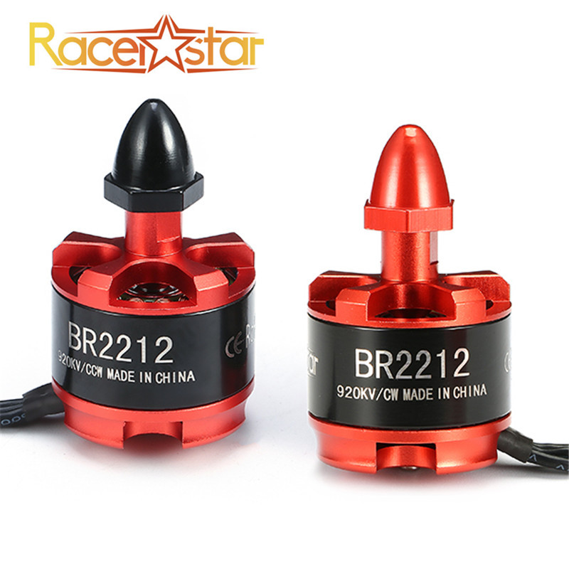 Free Shipping Racerstar Racing Edition 2212 BR2212 920KV 2-4S Brushless Motor CW CCW For 350 380 400 Frame Kit RC Racing Drones lhi fpv 4x mt2206 2300kv cw ccw fpv brushless motor 2 4s 4 pcs racerstar rs20a lite 20a blheli s bb1 2 4s brushless esc