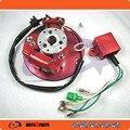 Гонки tator Магнето CDI Racing Внутренний Ротор Kit Красный Для 110 125 140cc Lifan YX Pit Dirt Bike NEW