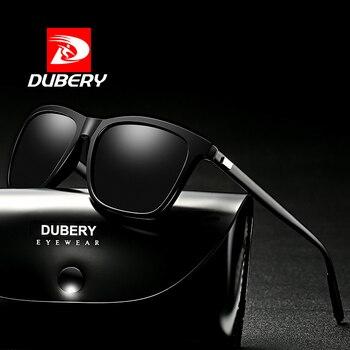 DUBERY polarizado gafas de sol hombres de la visión nocturna de conducción  de aluminio y magnesio 02b9e69d71b6