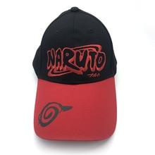 Anime naruto Hip Hop sombreros Uzumaki Naruto Cosplay plana sombrero  mujeres hombres gorra de béisbol Snapback a9ae8b82c05