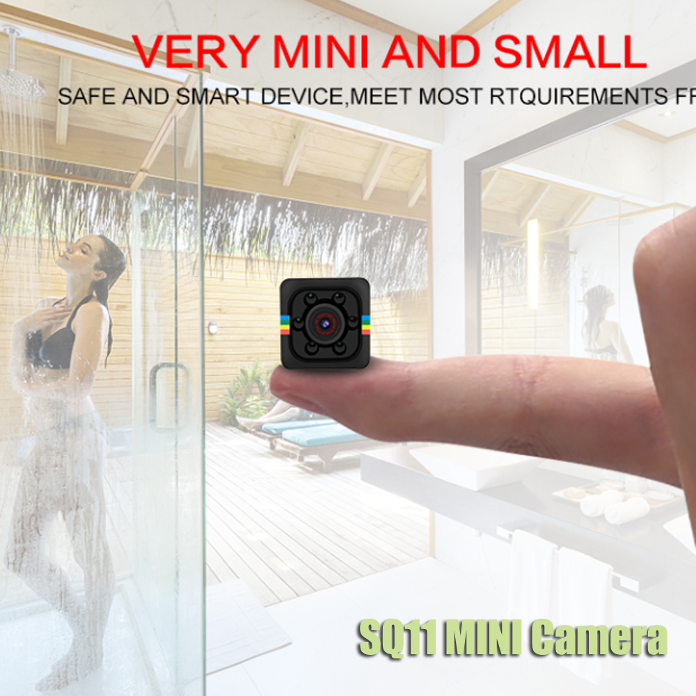 все цены на SQ11 PRO SQ 11 mini Camera 720P 1080P HD Sensor Night Vision Camcorder Micro video Camera DVR DV Motion Recorder Camcorder SQ13