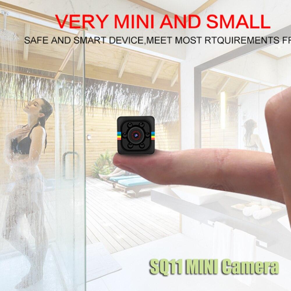 SQ11 PRO SQ 11 mini cámara 720 p 1080 p HD Sensor de visión nocturna Cámara Micro cámara de vídeo DV DVR movimiento videocámara grabadora de SQ13