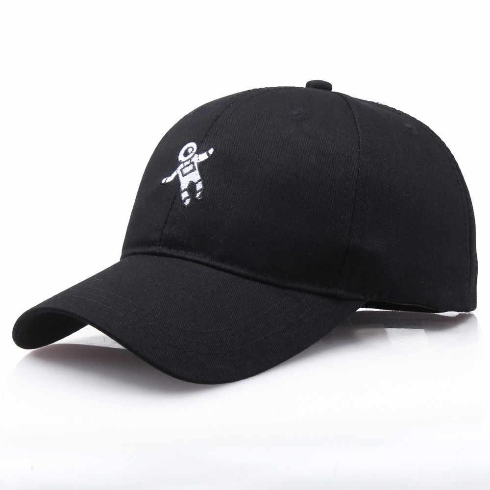 Chapéus Para Mulheres Caps Homens Unisex Chapéu Do Verão Moda Feminina Astronauta Emberoidery Baseball Hat Cap Sombreiro