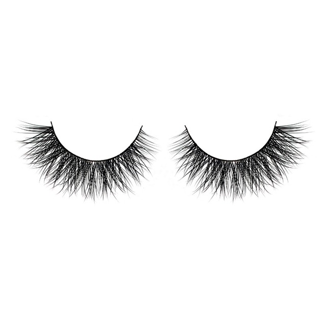 100% Real Mink Fur False Eyelashes-Individual Mink Eyelashes Extensions Handmade #L032