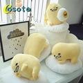 Japão Gudetama irmão travesseiro preguiçoso preguiçoso ovos Junho travesseiro gema de ovo ovo ovo almofada de pelúcia de presente