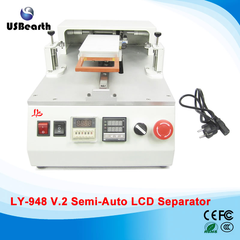 LY 948V.2 Semi automatic Retail Lcd Touch Screen Repair Machine With built-in Vacuum pump,free tax to EU semi auto lcd repair machine ly 948v 3 oca pack c for 7 inch free tax to europe