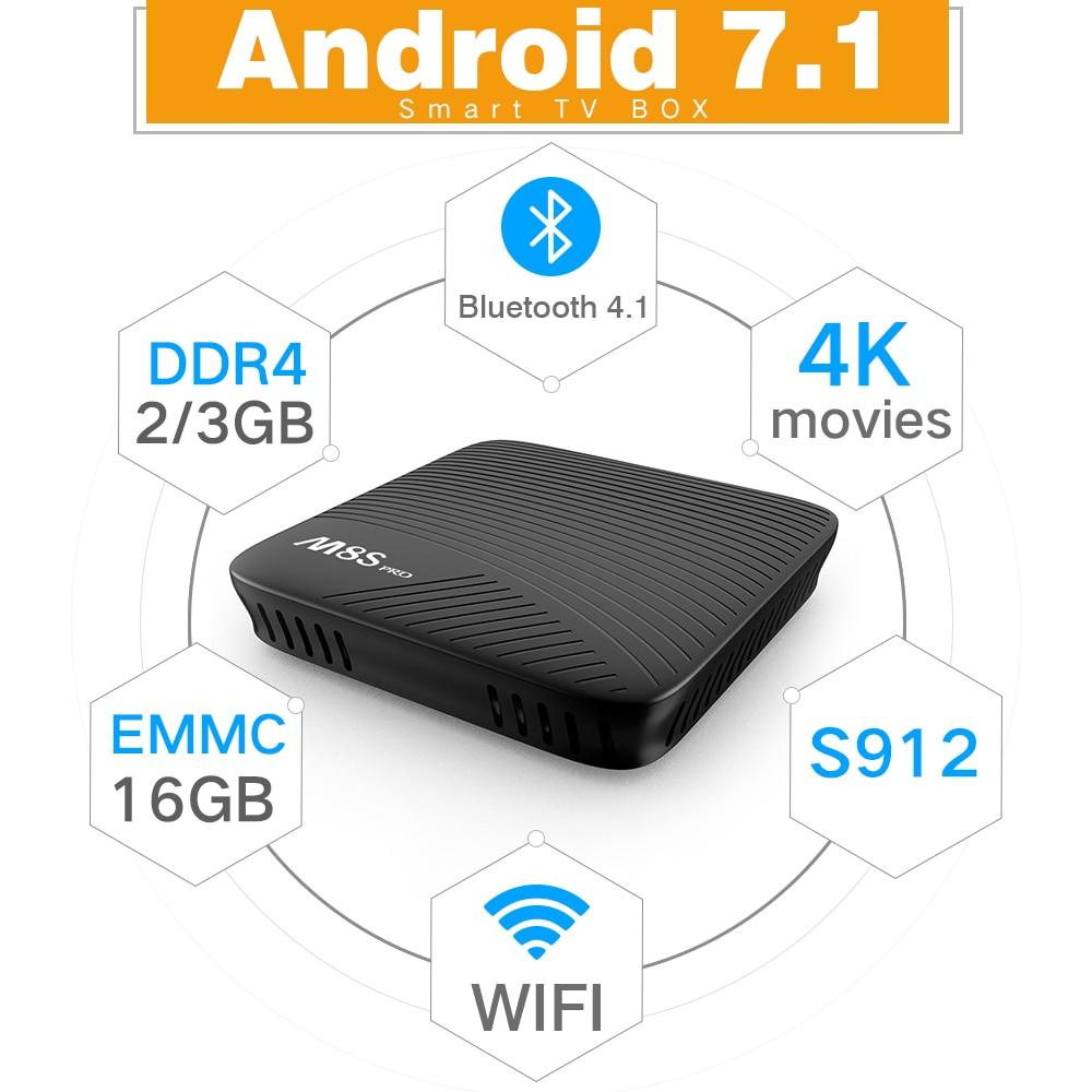 100% Original MECOOL M8S PRO DDR4 Android 7.1 Octa Core TV Box 100% Original MECOOL M8S PRO DDR4 Android 7.1 Octa Core TV Box HTB1rLAjRpXXXXXtaXXXq6xXFXXXu