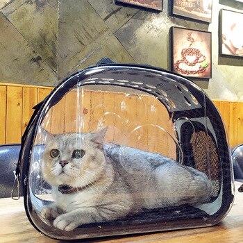 Transparent Pet Carrier Travel Bag 1