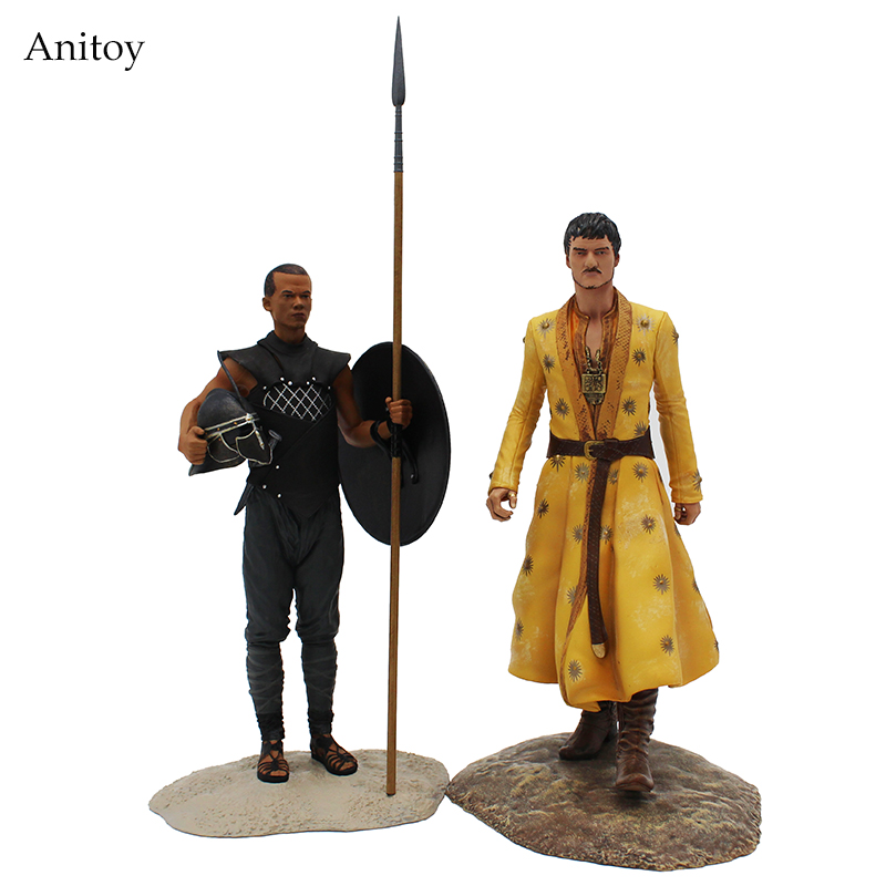 Game of thrones Oberyn Martell & Gary Worm PVC Action Figure Collectible Model Toy 20.5/23.5cm KT4224