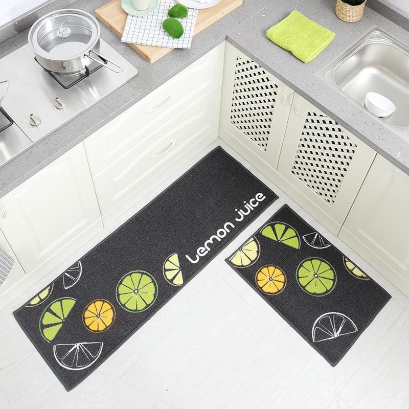 Kitchen Floor Door Mats Outdoor Mat Carpet Bathroom Waterproof Foot Cushion Home Mat Tapete
