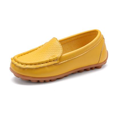 Kids Moccasin Loafers Shoes Children PU Leather Casual Boys Girls Flats Slip-on Soft Sneakers(Baby/Little/Big Kid)Size 21-36
