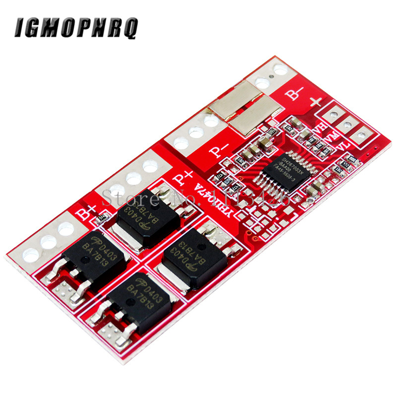 1pcs 3S 30A Max Li-ion Lithium 18650 Battery Charger Protection Board 12.6V PCB BMS Batteries Protecting Module image