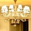 Современные хрустальные люстры для гостиной  спальни  кухни  K9 хрустальная лампа  lamparas de techo colgante  Современная Потолочная люстра