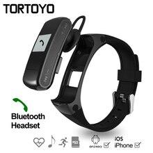 F50 Smart Браслет Bluetooth наушники фитнес-трекер Шагомер smartwatch Спорт Монитор Сердечного Ритма Смарт-браслет для андроид iOS
