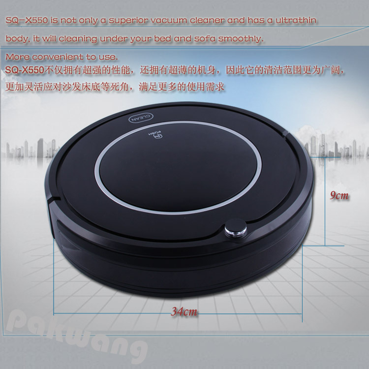 4 in 1 Vacuum Cleaner Intelligent Robot Vacuum Cleaner for home X550 Auto Recharge UV Sterilize Automatic aspirador