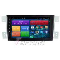8 Inch Quad Core Android 6 0 Car GPS Navigation For Suzuki Grand Vitara Radio Stereo