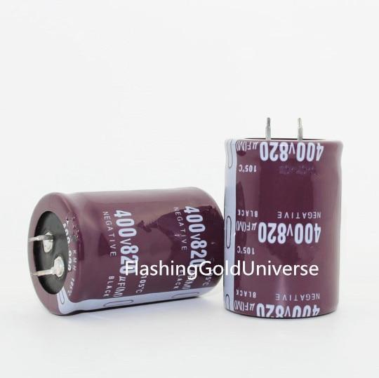 400 V 820 UF 820 UF 400 V Condensatore Elettrolitico di volume 35*50 migliore qualità-in Condensatori da Materiali e componenti elettronici su