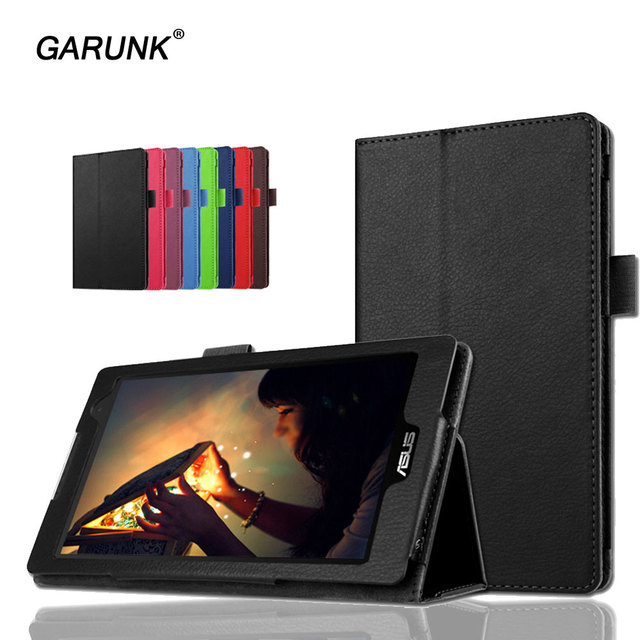brand new 6a823 37a82 US $5.75 37% OFF|for Asus ZenPad C 7.0 Z170CG Tablet Case Put Pen Solid  Leather Stand Flip Folio for Asus Z170C Protective Tablet Cover-in Tablets  & ...