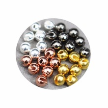 24 Pcs/Lot 4 Colors 3.3mm Nice-Designed Slotted Tungsten Beads Fly Tying Materials