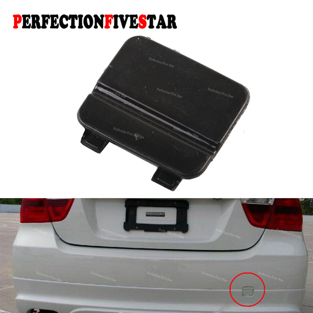 Fit BMW 3-Series E90 E91 328i 335d 335i 316i 318i Rear Bumper Tow Hook Cover Cap