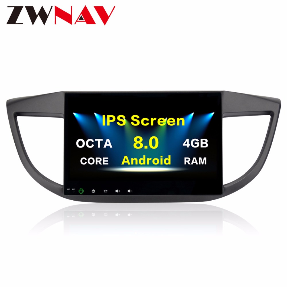 2 din Android 8.0 Car <font><b>multimedia</b></font> player For <font><b>Honda</b></font> <font><b>CRV</b></font> 2012 2012 <font><b>2014</b></font> 2015 CR-V Car Radio GPS Navigation PX5 4Gb+32G Octa-Core image