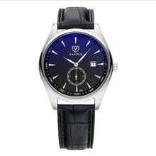 LinTimes Women Men Wristwatches Leather Strap Business Style Fashion Luminous Calendar Love