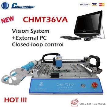CHMT36VA (Видения + Внешний Компьютер) Рабочего Pick И Место Машина управления с обратной связью, 0402-5050, SOP, QFN, TQFP ..