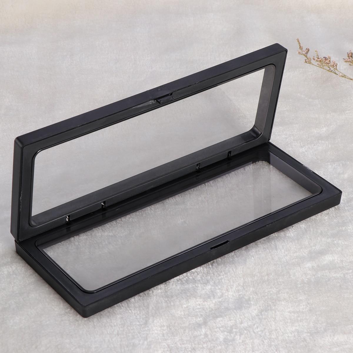 3D flotante Marcos sombra caja vitrina moneda caja exhibición de la ...