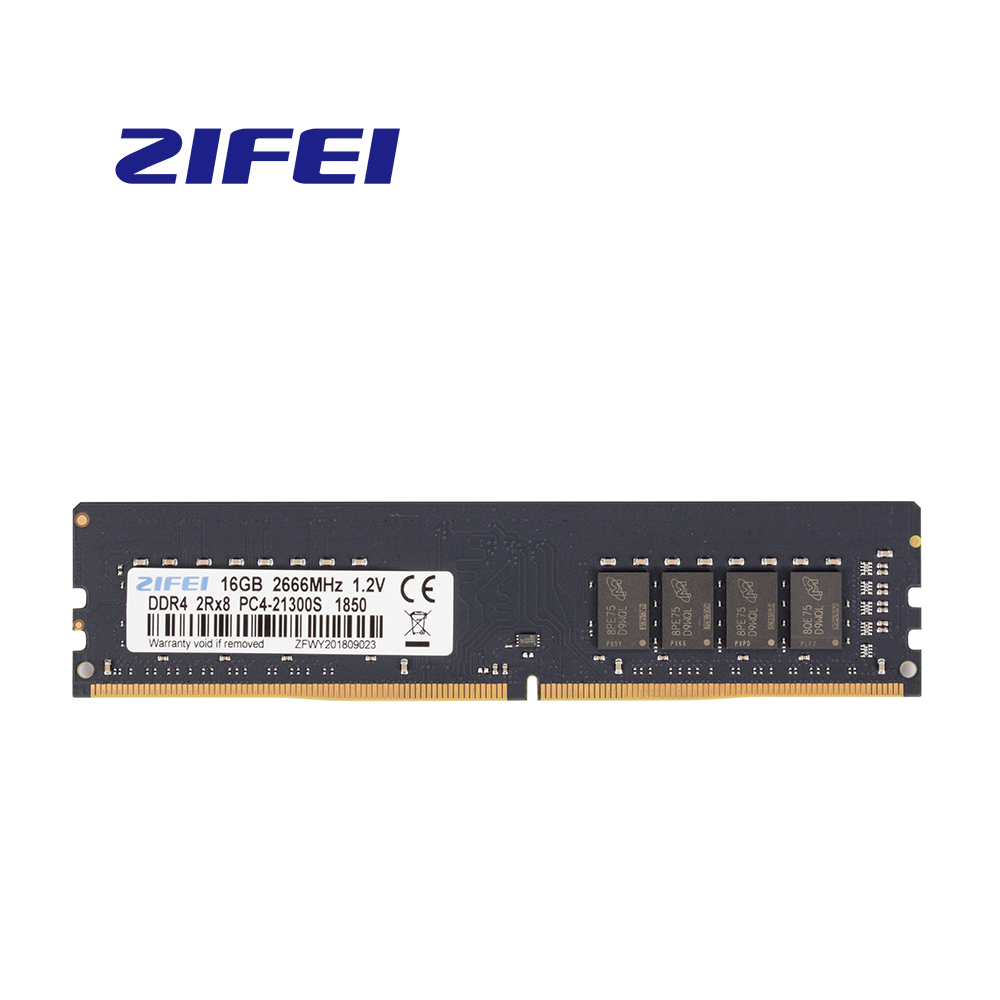 ZiFei ram <font><b>DDR4</b></font> 4GB 8GB <font><b>16GB</b></font> 2133MHz 2400MHz 2666MHz 288Pin LO-DIMM 1.2v dual channel motherboard for Desktop image