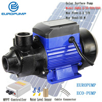 EUROPUMP Free Shipping Solar Water Pump 250W Solar Self Prime Pump 35M Power High Quality High Pressure MODEL(SQB2.2/35 D24/250)