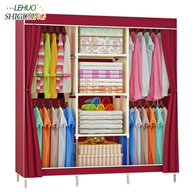 Fashion Home Furniture bedroom Non-woven fabric family wardrobe Standing Storage Organizer closet cabinet High foot Shelf fashion home furniture bedroom non woven fabric family wardrobe standing storage organizer closet cabinet high foot shelf