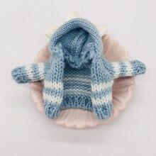 OB11 Кукла Одежда детская одежда вязаный свитер кардиган пальто глиняная кукла красота узел свинья Запуск платье для малышей аксессуары