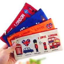 1pcs/lot Vintage Cartoon Flying Over The Leng Dun Pen Bag Style Students Four Selection Useful