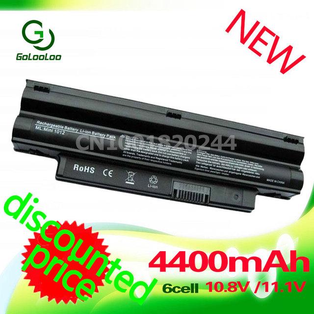 4400 mah batería para dell inspiron mini 1012 1018 golooloo 2t6k2 312-0966 312-0967 t96f2 cmp3d g9px2 nj644 854tj 3k4t8 8py7n