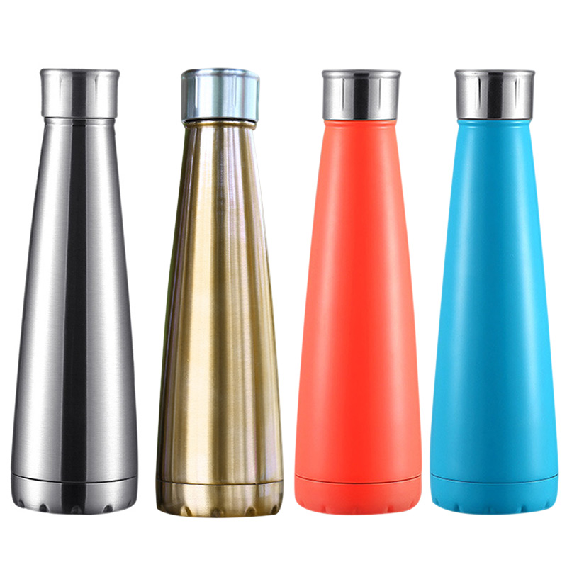 Insulated Outdoor Camping Hiking Sports Gym Flask Stainless Steel Water Bottle