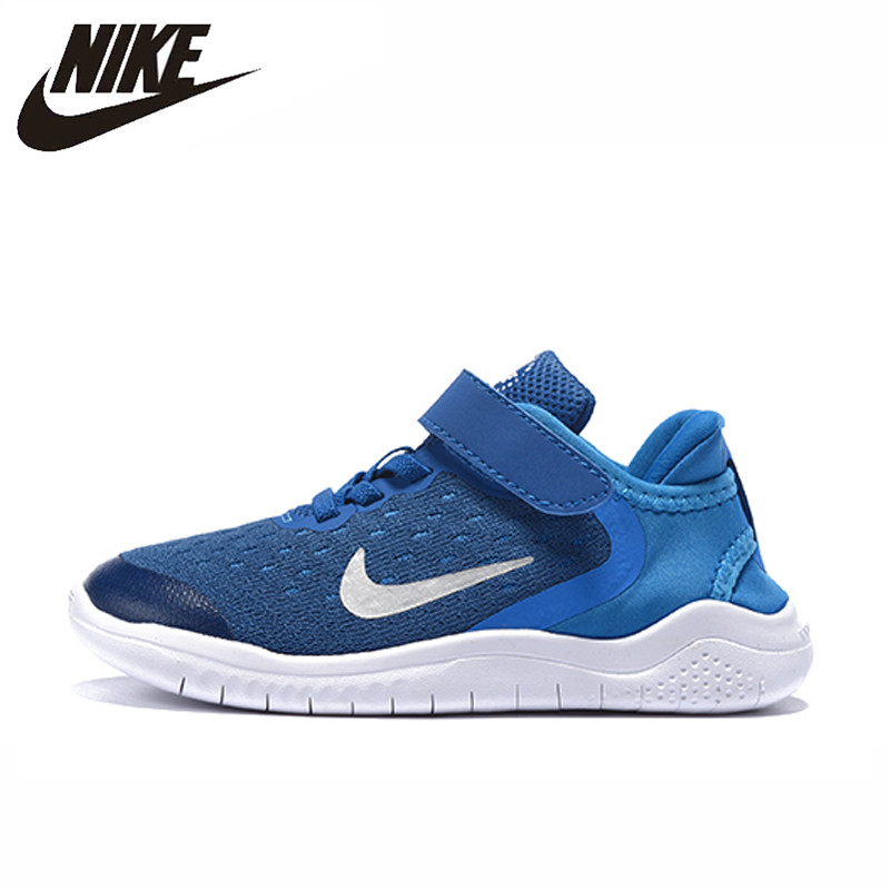 Nike Free Run 5.0 Children Shoes Kids Running Sport Shoes Breathable Sneakers