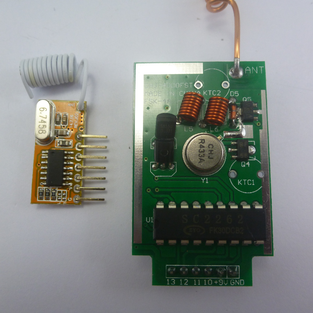 Buy Pt2262 Decoder And Get Free Shipping On Remoteencoder Transmitter Circuit