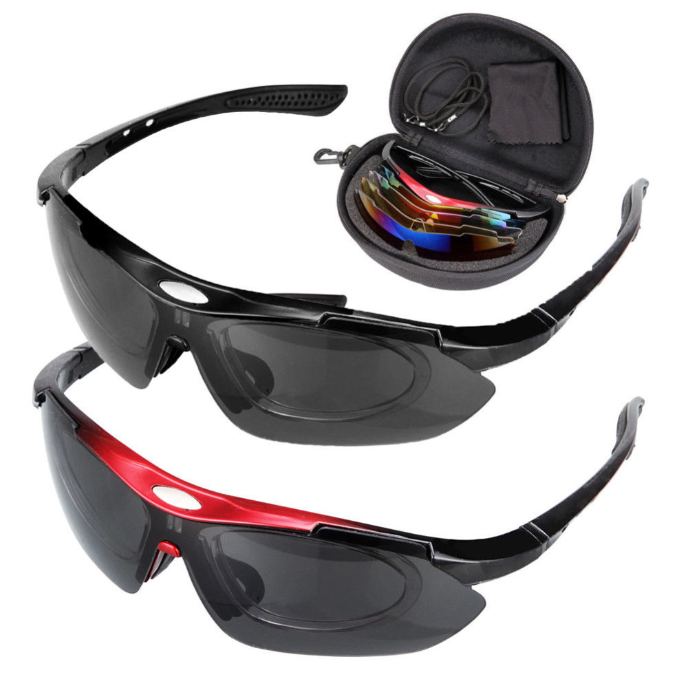Red/Black Professional hd Men Women Fishing Glasses Polarized Sunglasses Sports